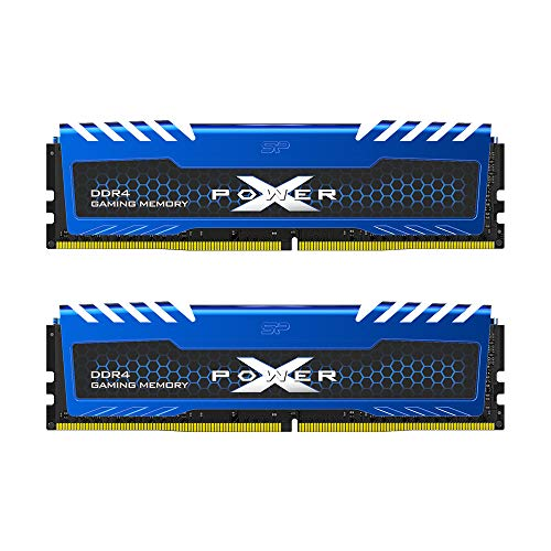 Silicon Power 32GB (16GBx2) XPOWER Turbine Gaming DDR4-2666MHz (PC4 21300) 288-pin CL16 1.2V Non-ECC Unbuffered UDIMM Desktop Memory Module - Low Voltage