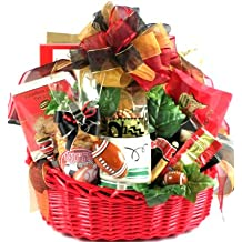 Gift Basket Village Game Day Football Gift Basket for Football Fans