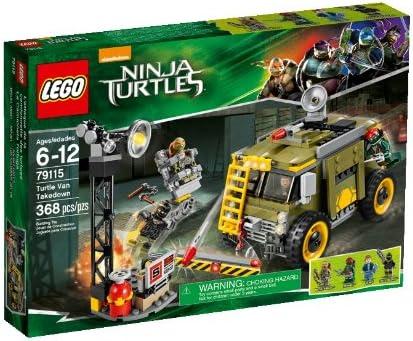 Amazon.com: LEGO Ninja Turtles 79115 Turtle Van Takedown ...