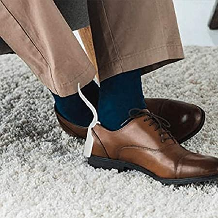 Wear Shoe Helpers Unisex Shoe Horn Easy on and off Shoe Lifting Helpers Majome Lazy Shoe Helper