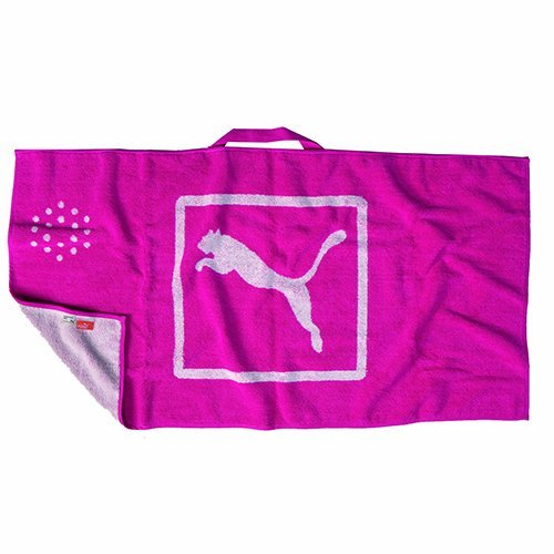 Puma Player's Towel, One Size, Beetroot Purple