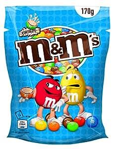 Crispy M&M's Chocolate Candy with Crisped Rice Center, 170g Bag - Rare
