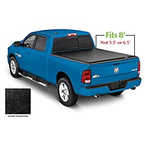 Lund 96063 Genesis Roll Up Truck Bed Tonneau Cover for 2002-2018 Dodge Ram 1500; 2003-2018 Ram 2500, 3500 | Fits 8