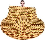 mermaker Burritos Blanket Double Sided