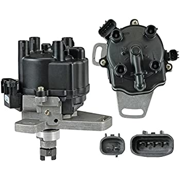 51KXqfO589L._SL500_AC_SS350_ amazon com brand new complete ignition distributor w cap & rotor  at cos-gaming.co