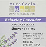Shower Tablets Relaxing Lavender, 3 OZ.- 3 Tablets of 1 OZ. Each