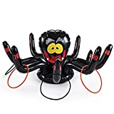 Spooktacular Creations Huge Inflatable 36 Inch Spider Ring Toss Game; Perfect for Halloween Party Favor by
