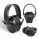 Zinnor 21dB Tactical Protective Earmuffs Outdoor Hunting Shooting Supplies Noise Earmuffs Hearing Protection Earmuffs(Color Black)