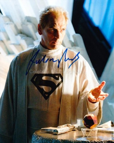 JULIAN SANDS as Jor-El - Smallville Genuine Autograph from Celebrity Ink