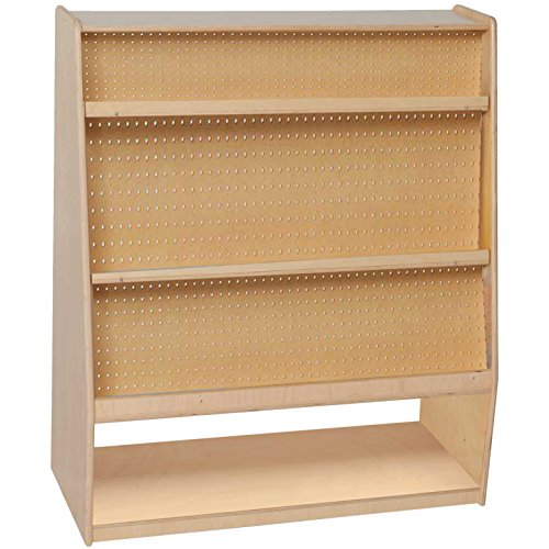 Wood Designs WD14100 Mobile Library, 44 x 36 x 15'' (H x W x D) by Wood Designs