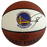 Stephen Curry Autographed Spalding Logo Basketball Golden State Warriors Beckett BAS #C90359