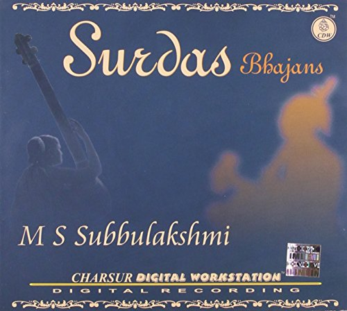 MS Subbulakshmi - Surdas Bhajans – Live Recording Of A Concert Held At Vidya Mandir, Prayer Hall In Calcutta On 23rd September 1978 (2-CD Set) by Charsur Digital