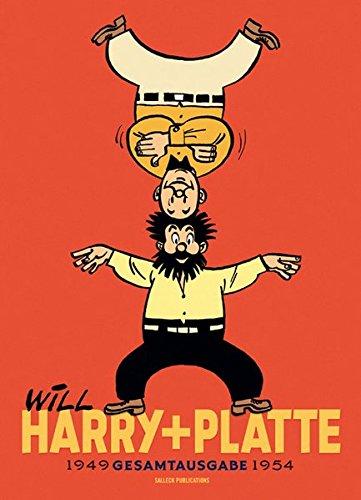 Harry und Platte: 1949 - 1954 (Harry und Platte, neue Gesamtausgabe) Gebundenes Buch – 1. Februar 2017 Fernand Dineur Will Eckart Schott Salleck Publications