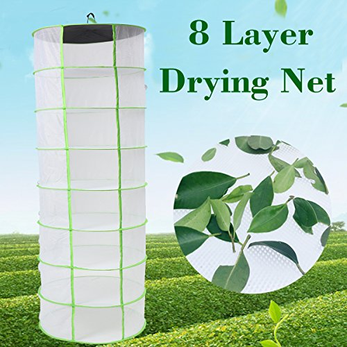 KINGSO Dry Rack Drying Net Heavy Duty Dryer Herb Drying Net