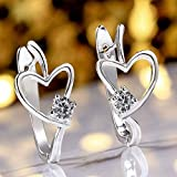 Sumanee Small Ball Dragonfly Solid Stud Heart U Jewelry Earrings Plated