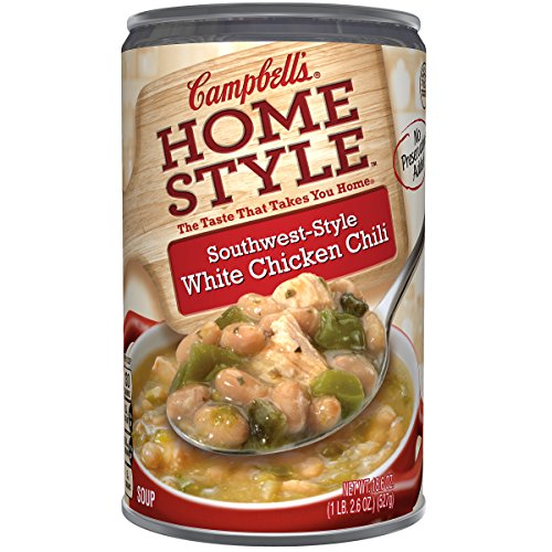 Campbell#039s Homestyle Soup SouthwestStyle White Chicken Chili 186 Ounce