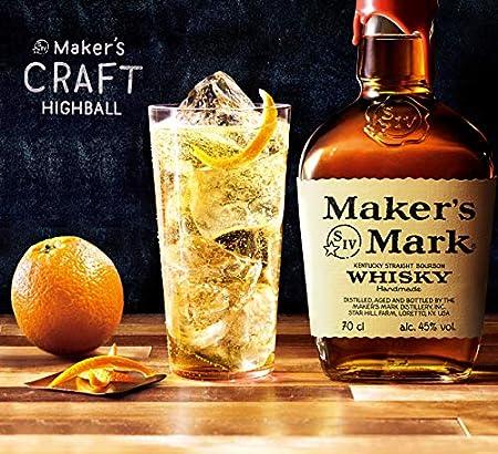 Maker's Mark Kentucky Straight Bourbon Whisky - 1000 ml