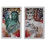 Gemaco 2 Pack Playing Cards Card Deck Set With Plastic Playing Card Case Poker Cards Bridge Cards Gin Rummy Cards Texas Holdem Cards
