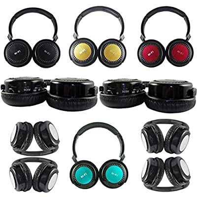 Best_Express Hi-Fi Stereo Headwearing Wireless Bluetooth Headset HiFi MP3 Music Bluetooth Headphone