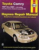H92007 Haynes Toyota Camry Avalon Solara Lexus ES 300 1997-2001 Auto Repair Manual