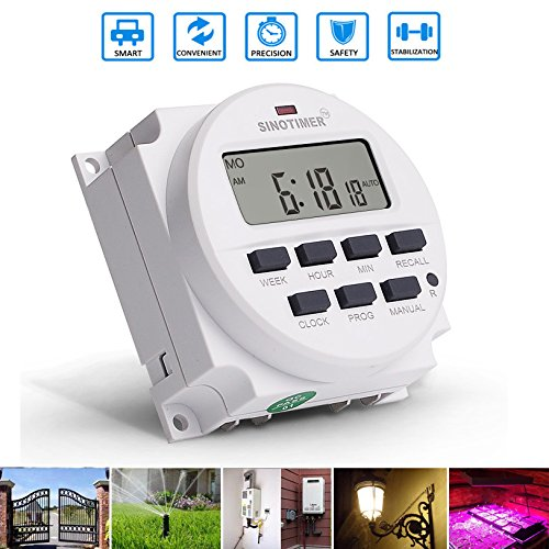 LEEPRA 12V Programmable Memory Plant Yard Lamp Timer Automatic Cycle Time Controller
