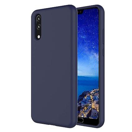 Funda Huawei P20 Lite, Carcasa Para Huawei P20 Lite Teléfono Móvil en TPU de Silicona Carcasa con Líquida de Imitación TPU anti Caída Anti-Arañazos ...