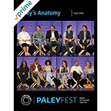 Grey's Anatomy: Cast at PaleyFest