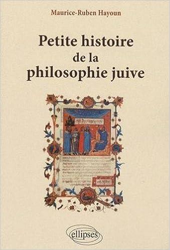 Livre Petite Histoire de la Philosophie Juive pdf ebook