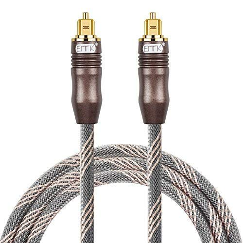 Digital Optical Audio Cable Toslink Optical Cable - [Nylon Braided Jacket