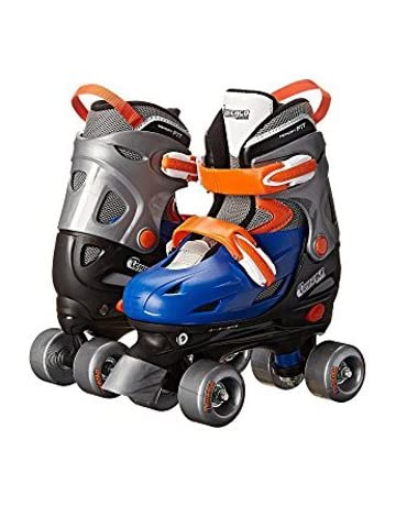 ... Value Performance Inline Skates. Chicago Boy s Adjustable Quad Roller  Skate 19f1045366a