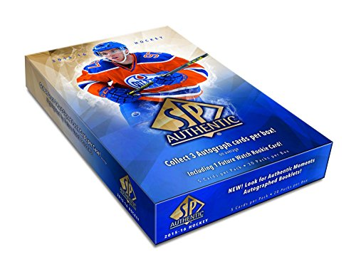 2015/16 Upper Deck SP Authentic NHL Hockey HOBBY box (20 pk)