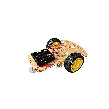 ViewTek CR0010 - 4WD Arduino Kit de chasis para Coche Inteligente de 4 Ruedas con Encoder de Velocidad para DIY: Amazon.es: Electrónica