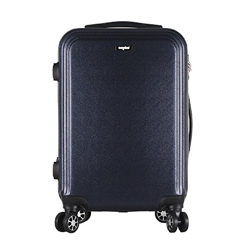 Sunydeal-Maleta-Equipaje-RgidaCandado-TSA-4-Ruedas-multidireccional202428NegroRosaAzul-MarinoborgoaPlateado