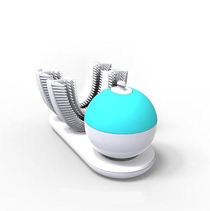 Cepillo Dental Perezoso Eléctrico Inteligente Negro De La Tecnología Que Cepilla Cepillado Automático 360 Grados Que