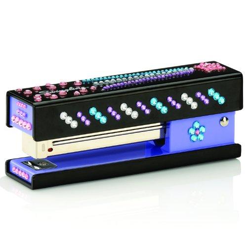 UPC 074711878869, Swingline Bling Fashion Stapler, 20 Sheets, Black with DIY Jewel Stickers (S7087886)