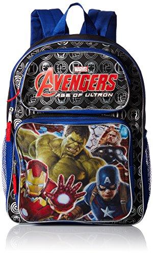 [해외]Avengers 마블 디럭스 백팩 아동용 40.6cm 대형 (학교 용품) 디럭스 / Avengers Cargo Backpack, 16