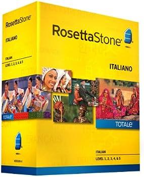 Rosetta Stone Italian Level 1-5 Set