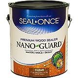 Seal-Once NANOGUARD Premium Wood Sealer Clear