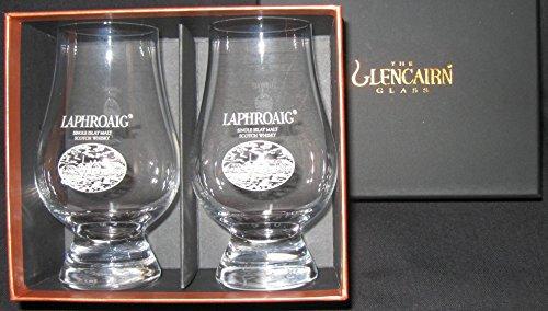 Laphroaig Logo Scotch Whisky Glencairn Two Glass Boxed Set - Buy Online in  UAE.  acdb047fa
