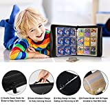 Geecow 9-Pocket Binder Compatible with Pokemon