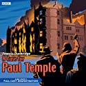 A Case for Paul Temple Audiobook by Francis Durbridge Narrated by Crawford Logan, Gerda Stevenson