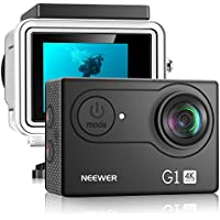 Neewer G1 12MP Ultra HD 4K Action Camera with Battery