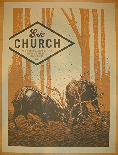 2012-eric-church-jonesboro-concert-poster-by-john-vogl