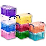 BOXES, ASSORTED, 65X85X120MM, PK10 0.3PK10ASS By REALLY USEFUL PRODUCTS LTD by Really Useful Products Ltd