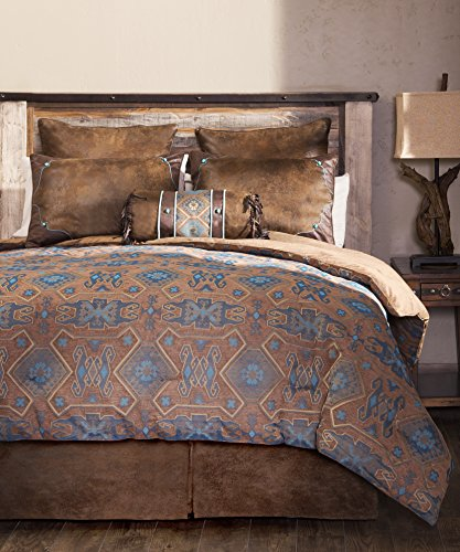 Carstens King Saguaro Desert 5 Piece Comforter Bedding Set,