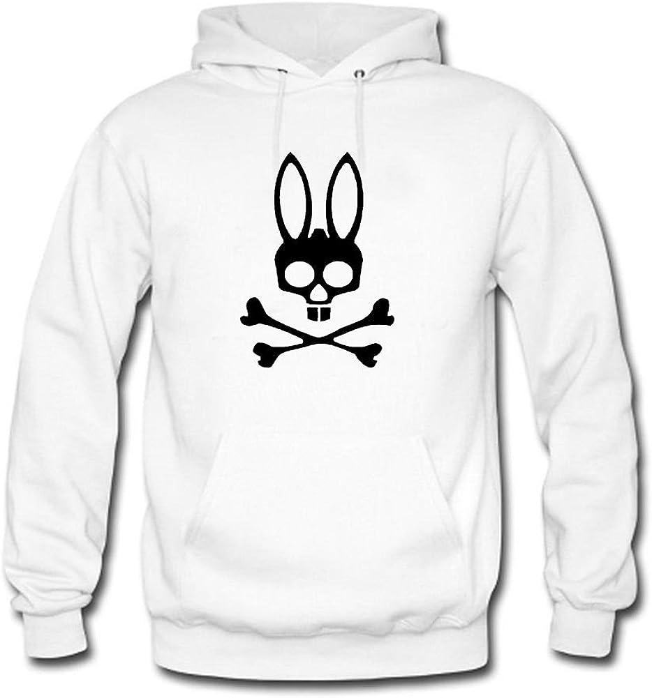 adwg Cool Mens Hoodies Psycho Bunny Grey
