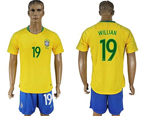 2018 World Cup jersey APPAREL メンズ B07BKY4TW9Willian 175-180cm