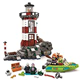 Compatible with Lego Scooby Doo Haunted Lighthouse Building Blocks Bricks set 437pcs with Instruction