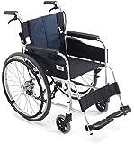 【MIKI/ミキ】新発売 軽量アルミ製 折り畳み 自走式 ハイポリマー式 車椅子 USG-1