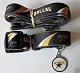 Hunter Dallas Stars Pet Combo (Includes Collar, Lead, ID Tag), X-Small